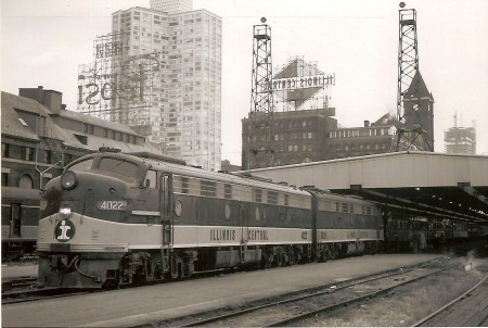 amtrak used chicago central