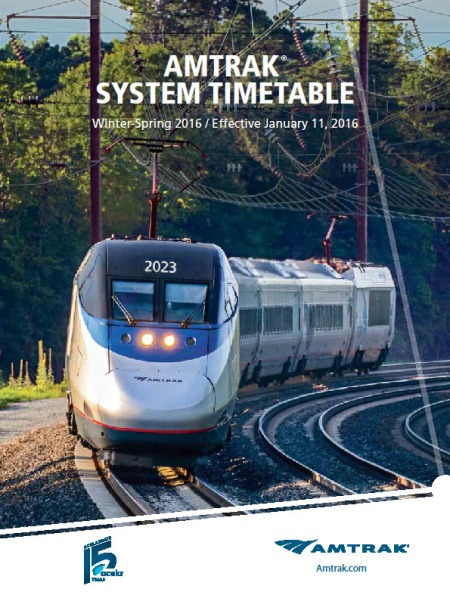 Amtrak TT cover