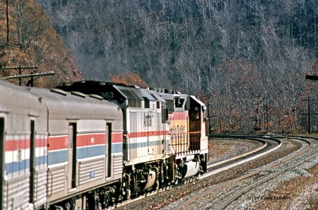 Amtrak 30 on November 3 1981-x