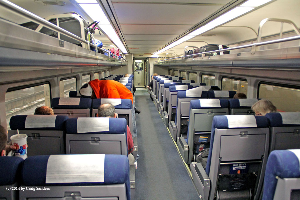 Amtrak Has Gotten A Fair Amount Of Publicity About Its Revamping Of The  Interiors Of Its Amfleet Equipment. But Will That Look Be Applied To The  Interiors ...